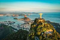 So farbenfroh ist die Millionenmetropole Rio de Janeiro
