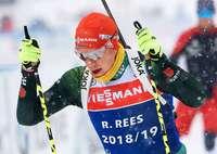 Roman Rees für Einzel bei Biathlon-WM nominiert