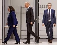 Berliner Koalition zelebriert Routine