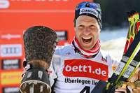 Bernhard Gruber gewinnt den Schwarzwaldpokal in Schonach