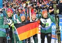 Benedikt Doll und Roman Rees holen mit der Staffel WM-Silber