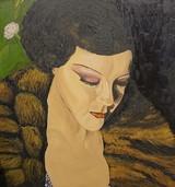 """""""Portraits"""" - Gesichter in Acryl und Öl."""