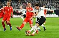 Deutsche Nationalelf spielt 1:1 gegen Serbien