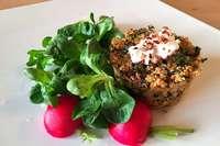 Als Auflauf avanciert Couscous zum vollwertigen Hauptgericht
