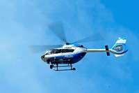 Haftstrafen für Einbrecher, die mit Hubschrauber verfolgt wurden