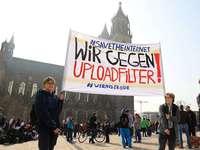 Fotos: Europaweit protestieren Tausende gegen EU-Urheberrechtsreform