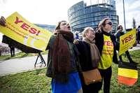 Das EU-Parlament in Straßburg billigt die umstrittene Reform – nach einer emotionalen Debatte