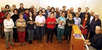 Chor Tonart probt das Requiem von Johannes Brahms
