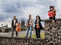Minuget Quartett beim Kammerkonzert in der Alten Schule/Museum in Erfringen-Kirchen