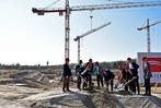 Fotos: So war die Grundsteinlegung für das neue SC-Stadion