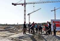 Grundstein für neues SC-Stadion in Freiburg gelegt