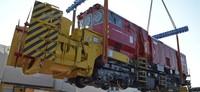 76-Tonnen-Schneefräse von Aebi-Schmidt