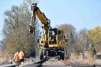Ausbau der Breisacher Bahn: Besuch auf der längsten Baustelle der Region
