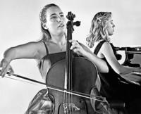 Natalia Dauer (Cello) und Julia Pleninger (Klavier) geben Konzert in Laufenburg/Schweiz