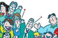 Miteinander arbeiten, miteinander lachen: Humor verbessert die Leistung
