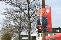 Illegale Plakatkampagne in Freiburg bleibt für Vodafone ohne Konsequenzen