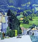 """Ausstellung """"Reale Orte - Malerei im urbanen Raum"""" mit Werken von Marcel Forrer im Stapflehus in Weil am Rhein endet"""
