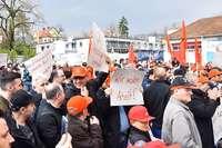 Lauffenmühle: Belegschaft will bis zum letzten Tag weiterkämpfen