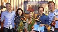 Stimmungsvoller Empfang der WM-Teilnehmer in Breitnau