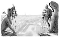 Die Wasserspeier von Notre-Dame