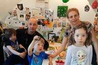 Die Rheinfelder Drillinge verbringen ihren 6. Geburtstag auf der Skipiste