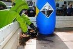 Wenn giftige Flüssigkeiten auslaufen