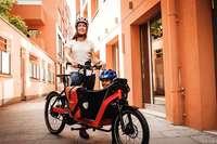 Kindersitz bis Longtailrad: Wie der Nachwuchs mitfahren kann