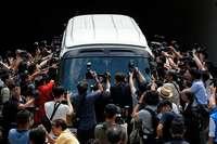 Vier Anführer von Hongkongs Demokratiebewegung müssen ins Gefängnis