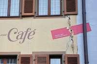 Neue Hebungsrisse in der Staufener Altstadt entdeckt