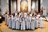 525 Mädchen und Jungen feiern in Freiburg dieses Jahr ihre Erstkommunion