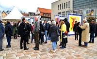 Kunstaktion für Europa ist in Offenburg zu sehen