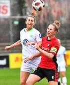Im Pokalfinale gegen Wolfsburg sind die SC-Frauen Underdog