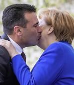 Merkel und Macron bereden Kosovo-Konflikt