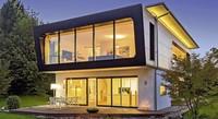 Blick in Werkstätte modernen Bauens