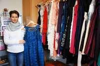Iris Keller betreibt in Arlesheim einen Verleih für Abendkleider