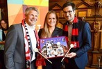 Fotos: Die SC-Frauen werden im Freiburger Rathaus empfangen