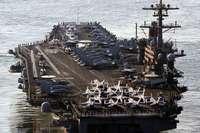USA verlegen einen Flugzeugträger in Richtung Iran
