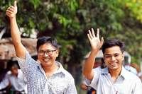 Myanmar lässt inhaftierte Reuters-Journalisten frei