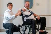Freiburger entwickelt zerlegbares Rollstuhlrad – und erhält den Innovationspreis