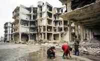 Podiumsdiskussion zur Zukunft von Syrien