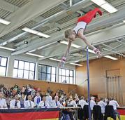 Höhenflug beim Deutschlandcup