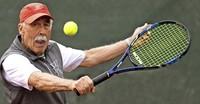 Tennis-Senioren an der Spitze