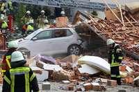 Zwei Todesopfer nach Explosion in Wohnhaus im Allgäu