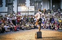 Easystreet-Theaterfestival in Freiburgs Innenstadt