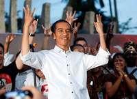 Widodo bleibt Präsident in Indonesien