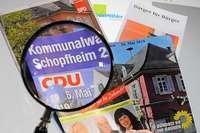 Schopfheimer Wahlbroschüren unter die Lupe genommen