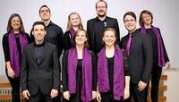 """Das Gesangsensemble """"Voix Célestes"""" gibt in der Kirche St. Pelagius in Laufenburg-Hochsal ein Konzert."""