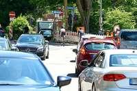 Umleitung wegen Eschbachbrücken-Sanierung verursacht Verkehrsprobleme