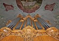 Stehende Ovationen für eine Orgel
