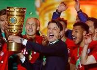 Auch nach dem Double: Die Distanz zu Bayern-Coach Niko Kovac bleibt spürbar